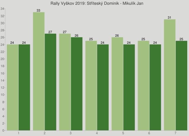 Rally Vyškov 2019: Stříteský Dominik - Mikulík Jan