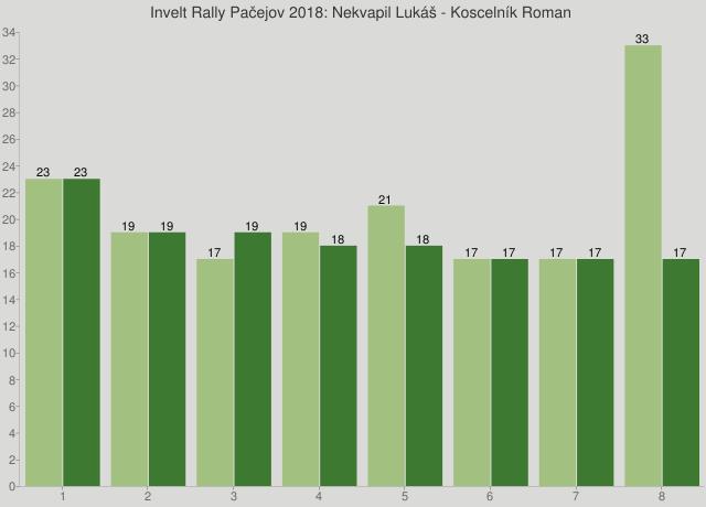 Invelt Rally Pačejov 2018: Nekvapil Lukáš - Koscelník Roman
