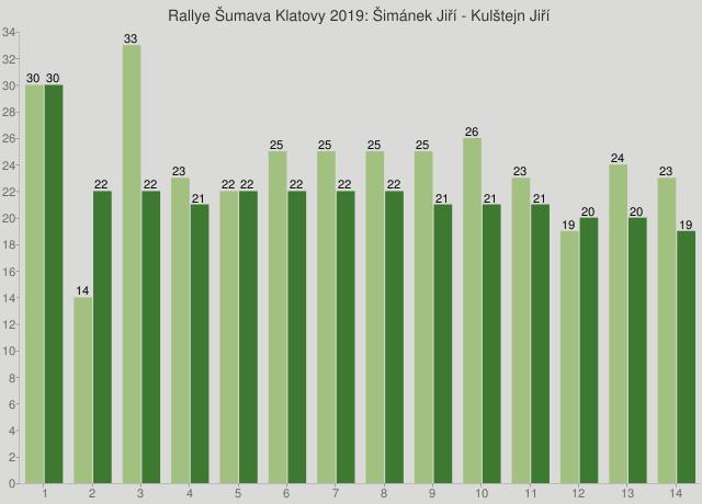 Rallye Šumava Klatovy 2019: Šimánek Jiří - Kulštejn Jiří