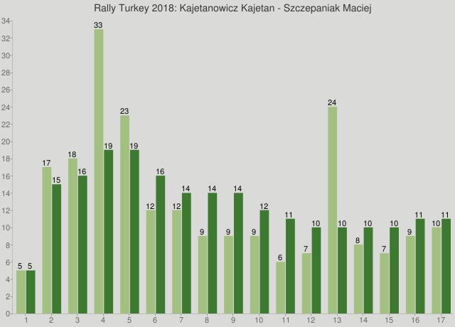 Rally Turkey 2018: Kajetanowicz Kajetan - Szczepaniak Maciej