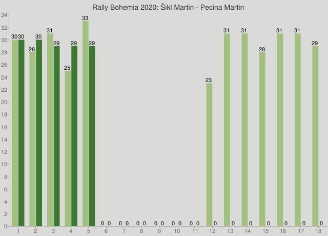 Rally Bohemia 2020: Šikl Martin - Pecina Martin