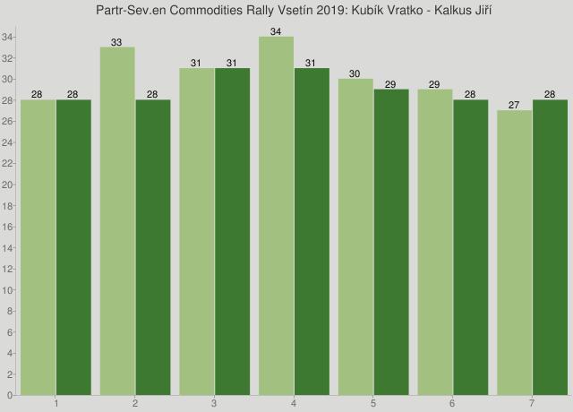 Partr-Sev.en Commodities Rally Vsetín 2019: Kubík Vratko - Kalkus Jiří