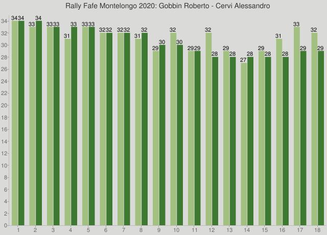 Rally Fafe Montelongo 2020: Gobbin Roberto - Cervi Alessandro