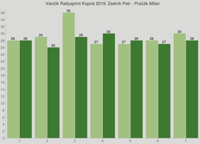 Vančík Rallysprint Kopná 2019: Zedník Petr - Pražák Milan