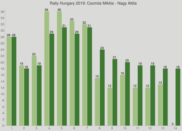 Rally Hungary 2019: Csomós Miklós - Nagy Attila