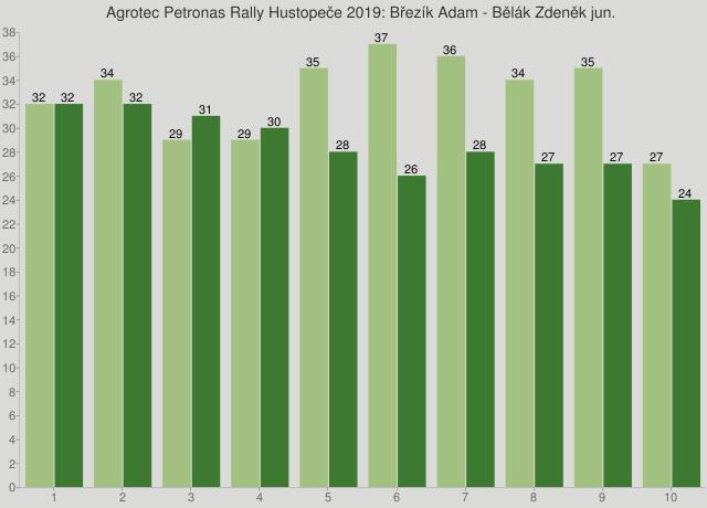 Agrotec Petronas Rally Hustopeče 2019: Březík Adam - Bělák Zdeněk jun.