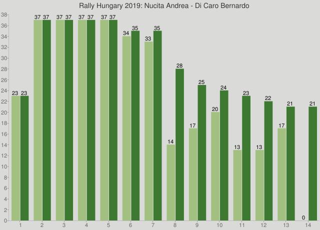 Rally Hungary 2019: Nucita Andrea - Di Caro Bernardo