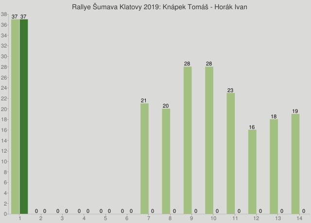 Rallye Šumava Klatovy 2019: Knápek Tomáš - Horák Ivan