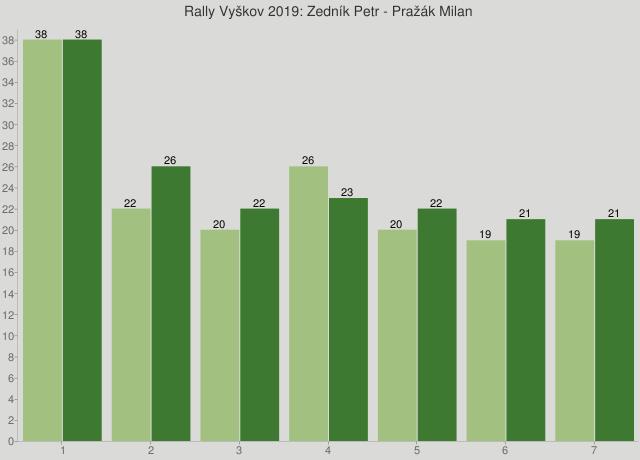 Rally Vyškov 2019: Zedník Petr - Pražák Milan