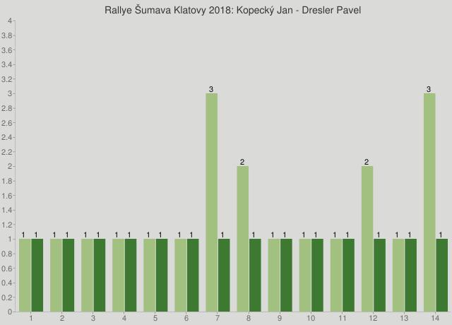 Rallye Šumava Klatovy 2018: Kopecký Jan - Dresler Pavel