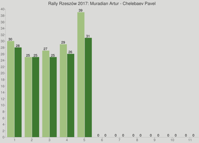 Rally Rzeszów 2017: Muradian Artur - Chelebaev Pavel