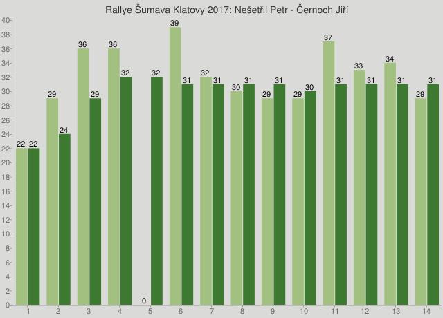 Rallye Šumava Klatovy 2017: Nešetřil Petr - Černoch Jiří