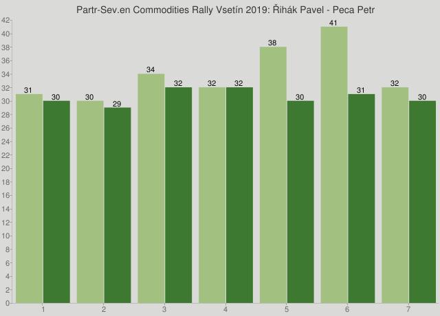 Partr-Sev.en Commodities Rally Vsetín 2019: Řihák Pavel - Peca Petr