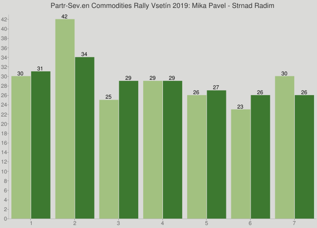 Partr-Sev.en Commodities Rally Vsetín 2019: Mika Pavel - Strnad Radim