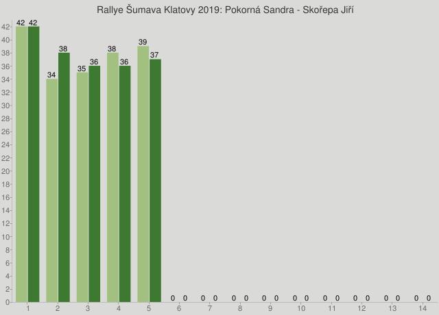 Rallye Šumava Klatovy 2019: Pokorná Sandra - Skořepa Jiří