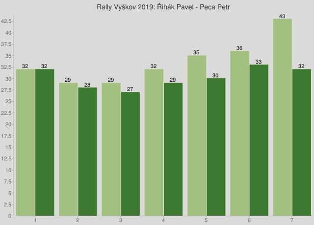 Rally Vyškov 2019: Řihák Pavel - Peca Petr