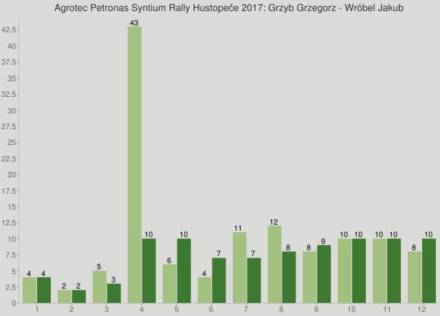Agrotec Petronas Syntium Rally Hustopeče 2017: Grzyb Grzegorz - Wróbel Jakub