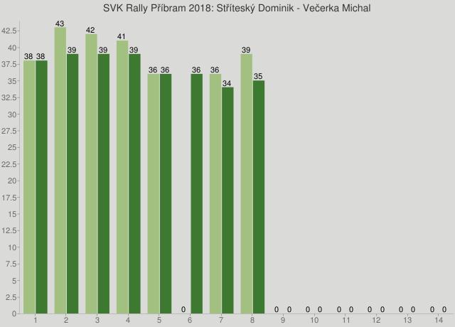 SVK Rally Příbram 2018: Stříteský Dominik - Večerka Michal