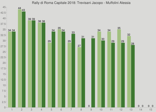 Rally di Roma Capitale 2018: Trevisani Jacopo - Muffolini Alessia