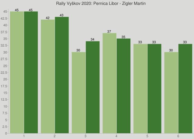Rally Vyškov 2020: Pernica Libor - Zigler Martin