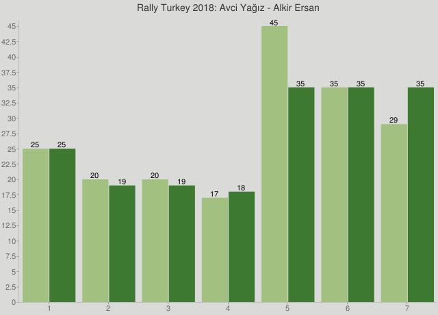 Rally Turkey 2018: Avci Yağız - Alkir Ersan