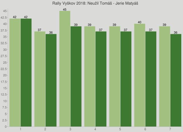 Rally Vyškov 2018: Neužil Tomáš - Jerie Matyáš