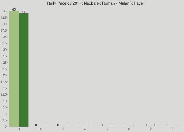 Rally Pačejov 2017: Nedbálek Roman - Malaník Pavel