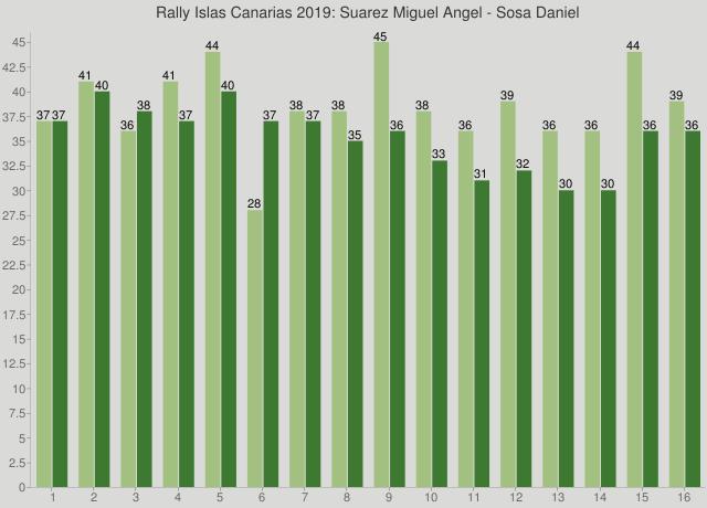 Rally Islas Canarias 2019: Suarez Miguel Angel - Sosa Daniel