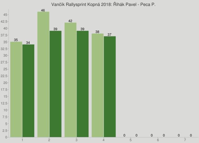Vančík Rallysprint Kopná 2018: Řihák Pavel - Peca P.