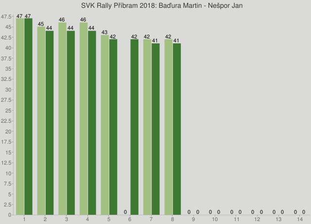 SVK Rally Příbram 2018: Baďura Martin - Nešpor Jan