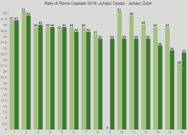 Rally di Roma Capitale 2018: Juhász Csaba - Juhász Zsolt