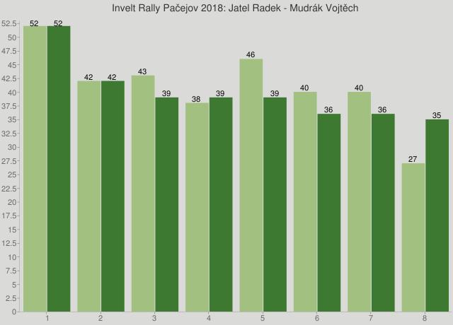 Invelt Rally Pačejov 2018: Jatel Radek - Mudrák Vojtěch