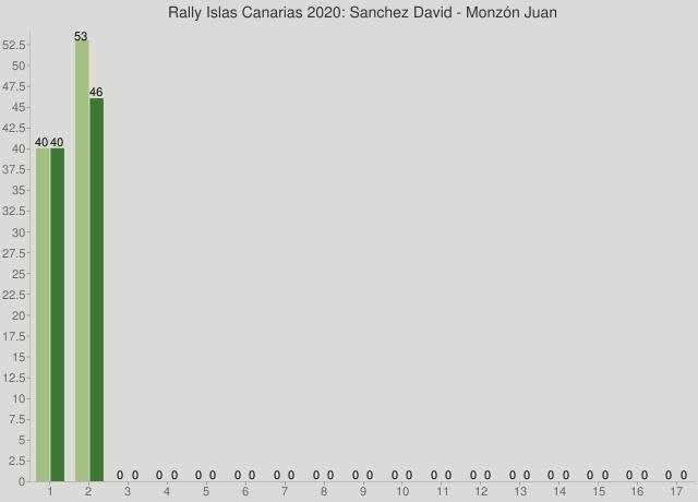 Rally Islas Canarias 2020: Sanchez David - Monzón Juan