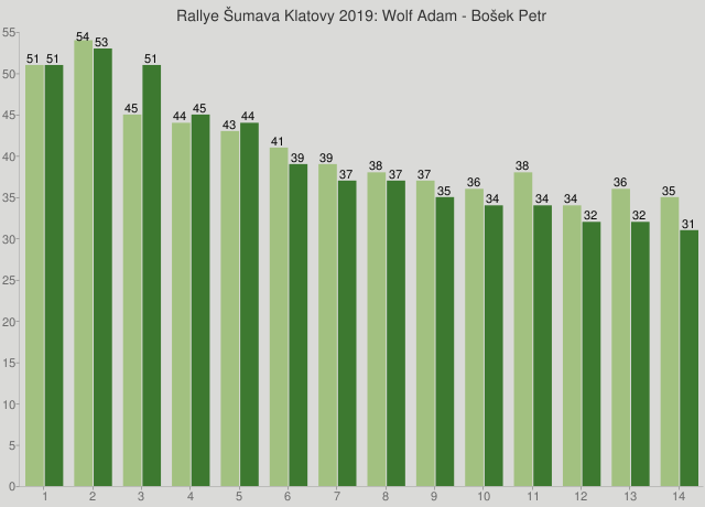 Rallye Šumava Klatovy 2019: Wolf Adam - Bošek Petr