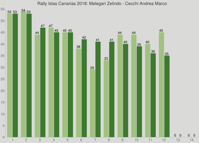 Rally Islas Canarias 2018: Melegari Zelindo - Cecchi Andrea Marco