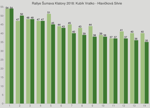 Rallye Šumava Klatovy 2018: Kubík Vratko - Hlavičková Silvie