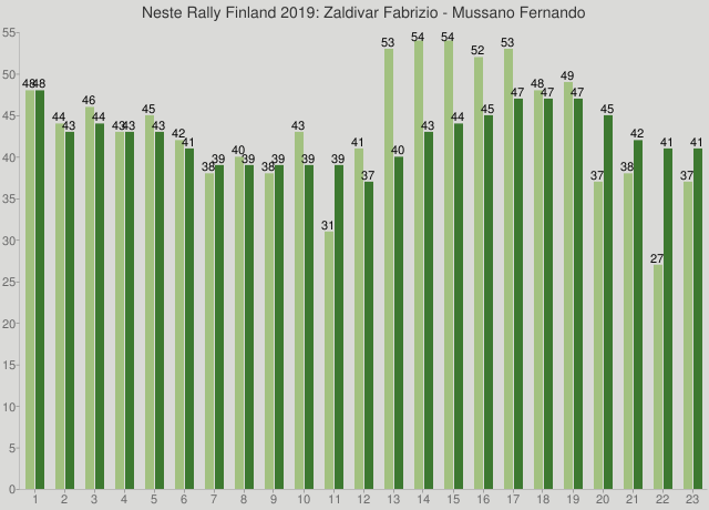 Neste Rally Finland 2019: Zaldivar Fabrizio - Mussano Fernando
