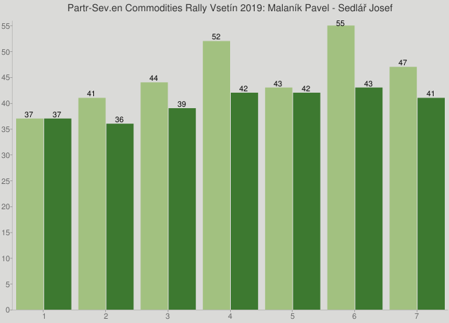 Partr-Sev.en Commodities Rally Vsetín 2019: Malaník Pavel - Sedlář Josef
