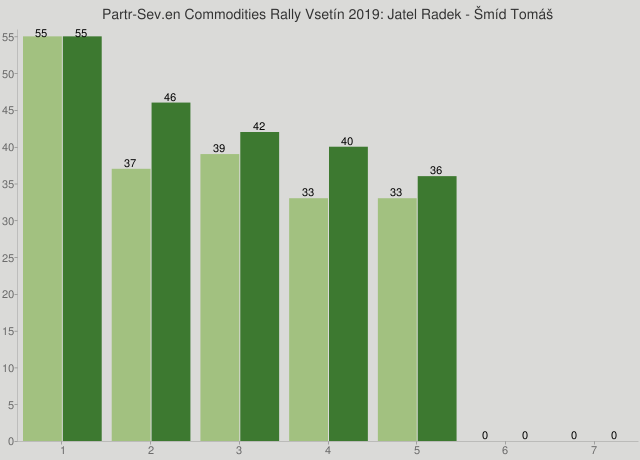 Partr-Sev.en Commodities Rally Vsetín 2019: Jatel Radek - Šmíd Tomáš