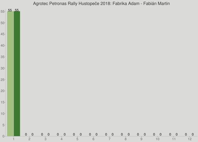 Agrotec Petronas Rally Hustopeče 2018: Fabrika Adam - Fabián Martin