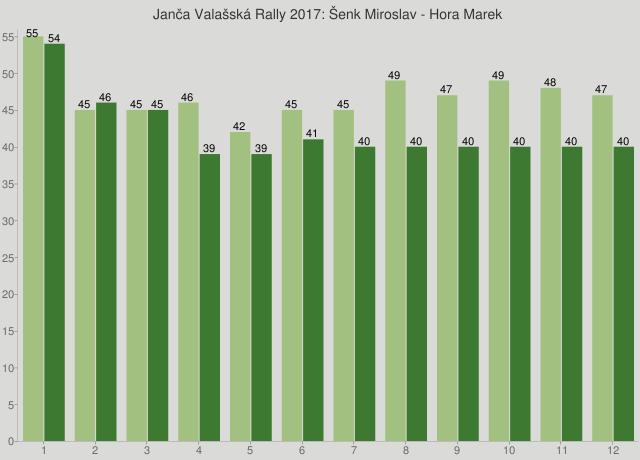 Janča Valašská Rally 2017: Šenk Miroslav - Hora Marek