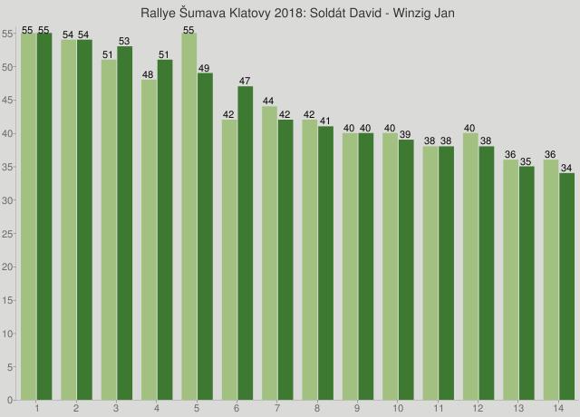 Rallye Šumava Klatovy 2018: Soldát David - Winzig Jan