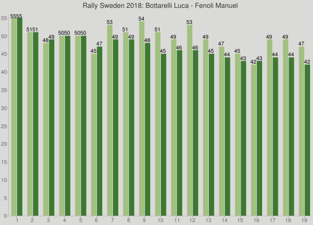 Rally Sweden 2018: Bottarelli Luca - Fenoli Manuel