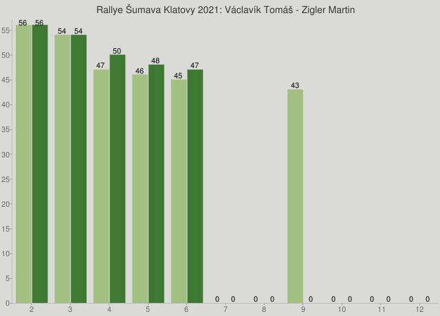 Rallye Šumava Klatovy 2021: Václavík Tomáš - Zigler Martin