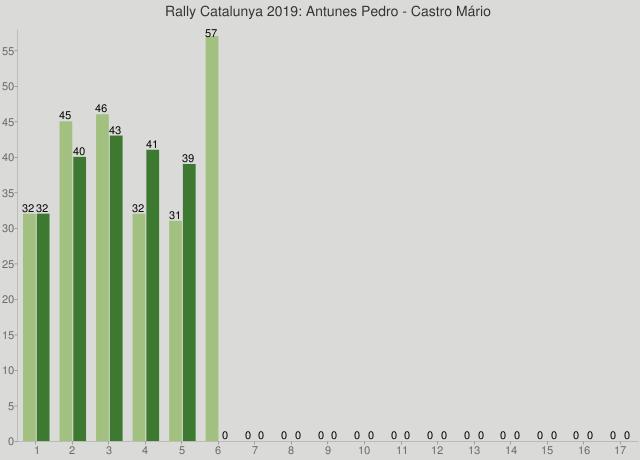 Rally Catalunya 2019: Antunes Pedro - Castro Mário