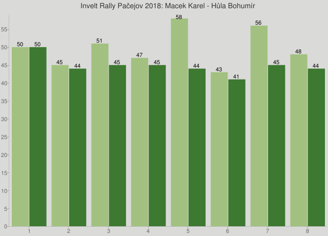 Invelt Rally Pačejov 2018: Macek Karel - Hůla Bohumír