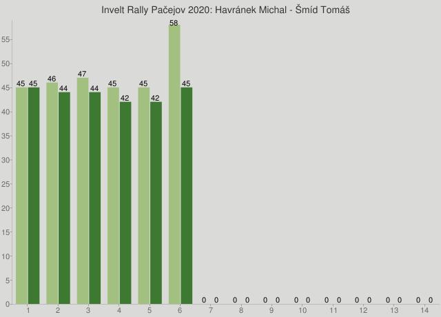 Invelt Rally Pačejov 2020: Havránek Michal - Šmíd Tomáš