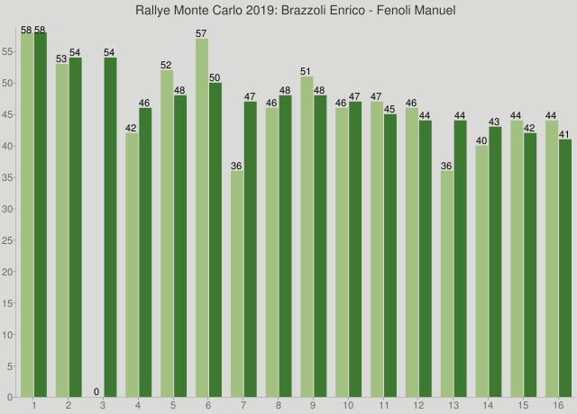 Rallye Monte Carlo 2019: Brazzoli Enrico - Fenoli Manuel
