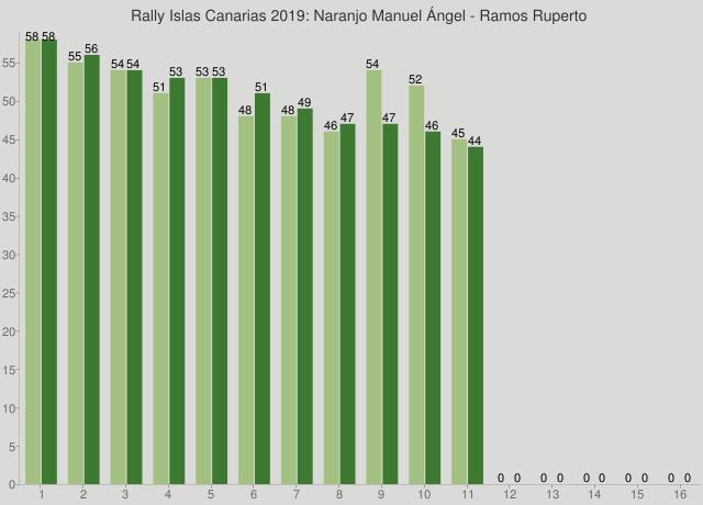 Rally Islas Canarias 2019: Naranjo Manuel Ángel - Ramos Ruperto
