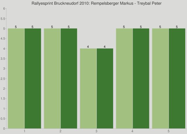 Rallyesprint Bruckneudorf 2010: Rempelsberger Markus - Treybal Peter